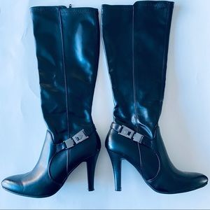 Dana Buchman High Heel Black Boots